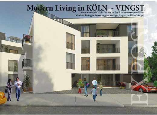 Auf die Bedürfnisse der Bewohner ausgerichtet ! 2-Zimmer-Wohnung auf ca. 62 m² Wohnfläche mit Balkon