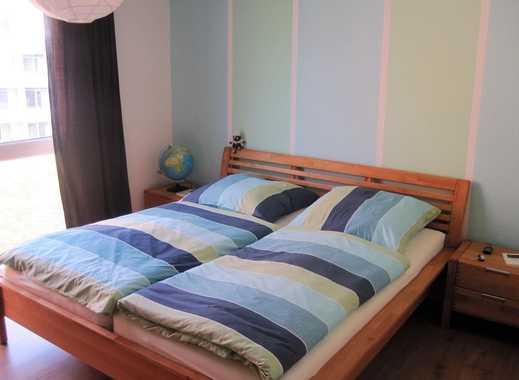 Stadmitte - helle möblierte 2-Raum-Wohnung mit Balkon