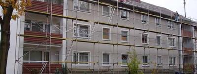 Seniorenwohnung 2 Zimmer, Küche, Bad, Balkon, Nuss-Laminatböden  ** mit Fahrstuhl **