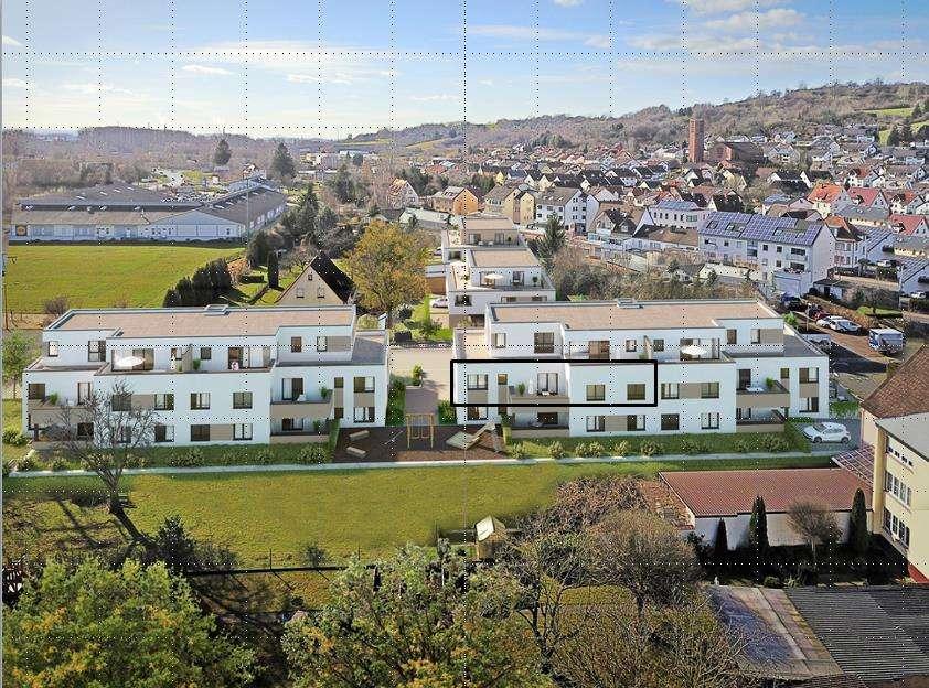 Erstbezug mit Balkon: freundliche 3,5-Zimmer-Wohnung in Goldbach in