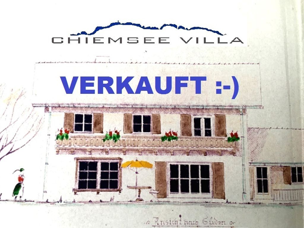 verkauft Chiemsee Villa 1