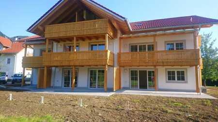 Wohnen wo andere Urlaub machen - attraktive 3-Zimmer-Neubauwohnung im Dachgeschoss in Ruhpolding