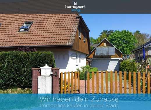 Charmantes Zweifamilienhaus mit wunderschön angelegtem Garten inmitten von Biesenthal