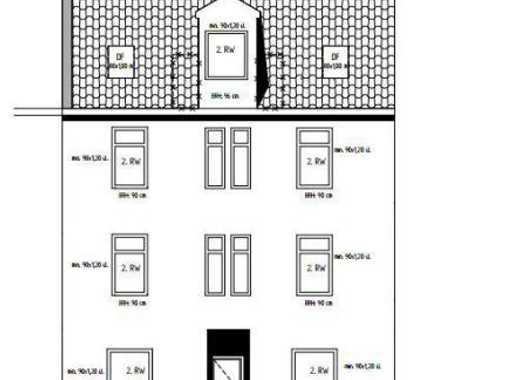 Kernsanierung 6 Familienhaus moderne Penthouse ETW zum Einziehen