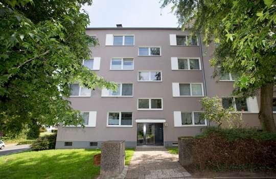 hwg - 2- Zimmer Wohnung im Erdgeschoss mit Balkon zu vermieten!
