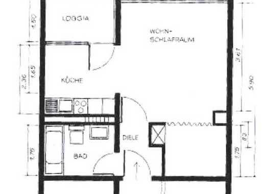 Exklusive 1-Zimmer-Wohnung mit Balkon in Ratingen Lintorf