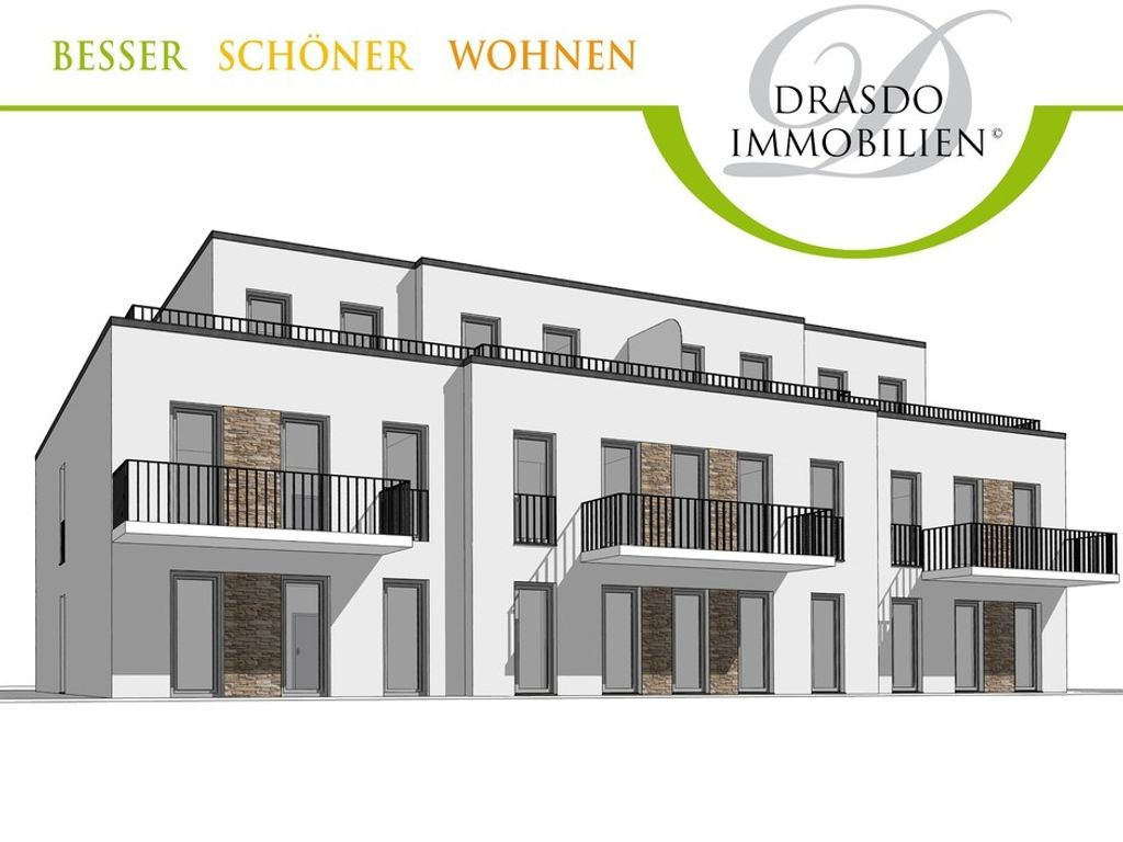 neubau mehrfamilienhaus mit ca 755m wohnfl che. Black Bedroom Furniture Sets. Home Design Ideas