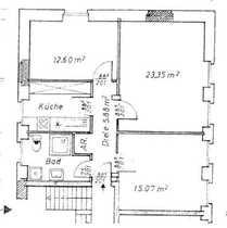 Bild - NACHMIETER GESUCHT - Schöne drei Zimmer Wohnung Schwarzenbach a.d. Saale