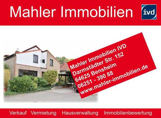 !! RESERVIERT !!  Ansprechendes, großzügiges Einfamilienhaus in Bensheim Auerbach