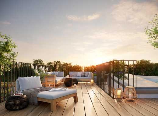 Erstklassiges Penthouse auf ca. 101 m² mit großer Terrasse und Dachterrasse in Pankow