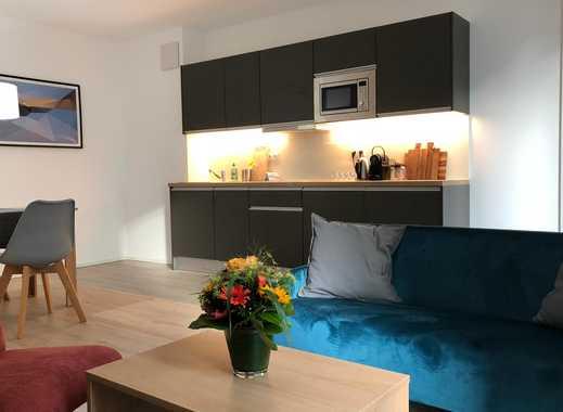 Vollausgestattetes, möbliertes 2 Zimmer Apartment mit Terrasse in Bonn Beuel