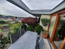 Traumhafte Dachterrasse sucht grünen Daumen