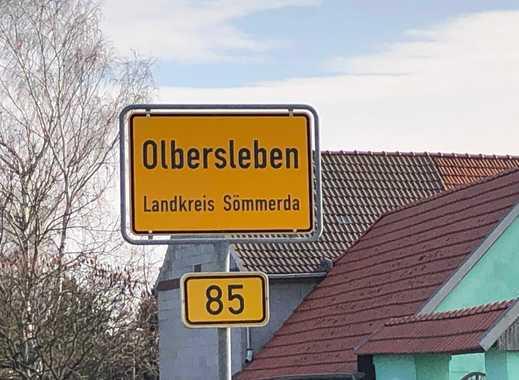 Olbersleben: Haus mit Garage und Scheune im Ortszentrum (Kirchplatz)