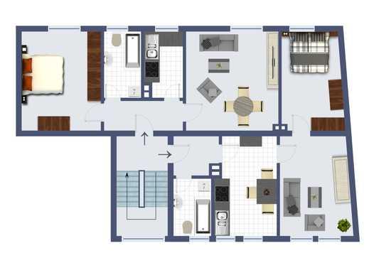 *Kapitalanlage* 3 Eigentumswohnungen in einem Haus