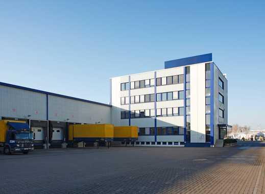 Moderne Crossdock Halle im Güterverkehrszentrum Bremen