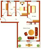 Erstbezug schöne 3-Zimmer-Erdgeschosswohnung in Andernach-Eich