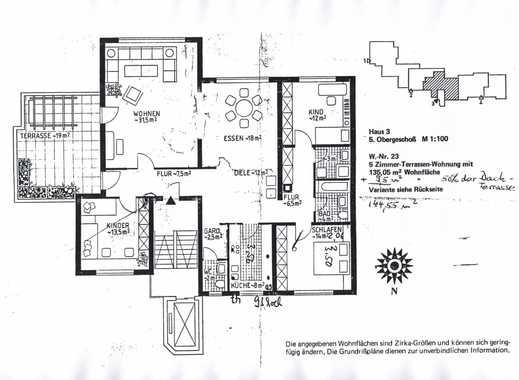 Schöne fünf Zimmer Wohnung in Darmstadt, Arheilgen