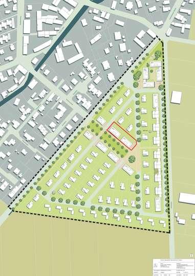 Bauträgergrundstück für Bebauung eines Mehrfamilien,-Reihenhauses in Sickte
