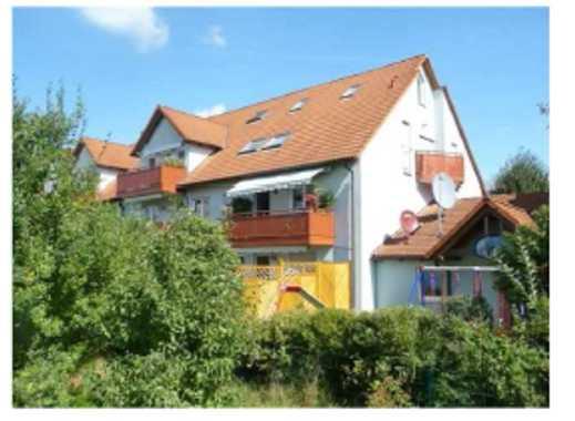 Helle und freundliche 3-Zimmer-Maisonette-Wohnung mit Balkon und EBK in Erlangen