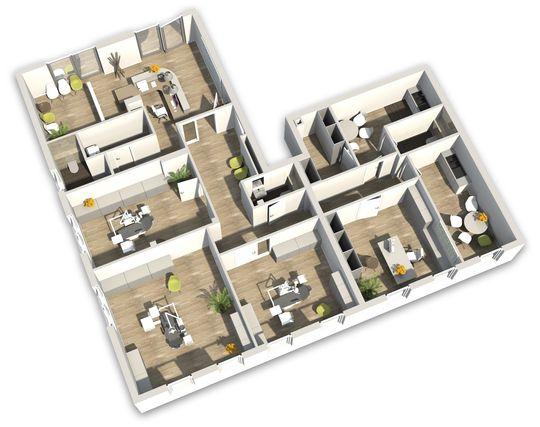 3D-Grundriss Praxis
