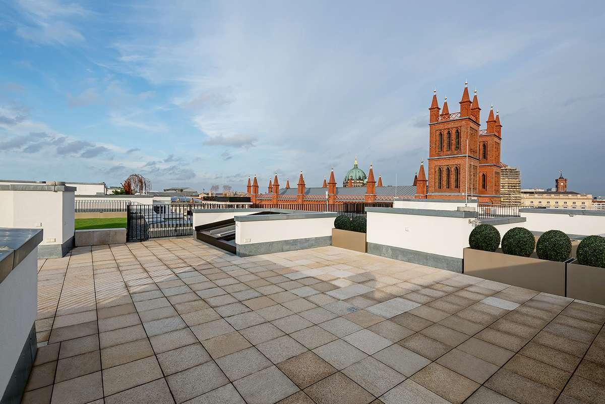 Rooftop-Terrasse