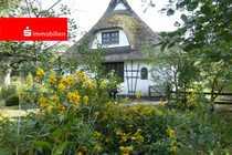 Liebevoll renoviertes Reetdachhaus in Alleinlage