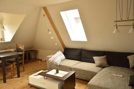 Zentrale 2-Zimmer DG-Wohnung in Hammerstatt/St. Georgen/Burg (Bayreuth)