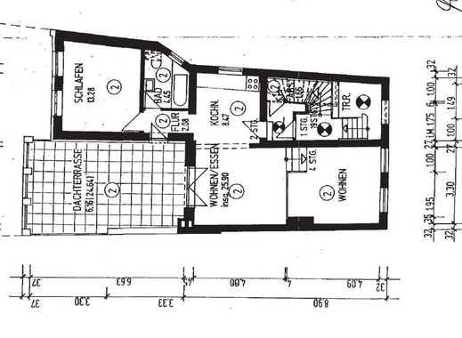 Schöne, geräumige zwei Zimmer Wohnung in Bremen, Ostertor
