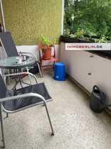 Bild IMMOBERLIN: Behagliche vermietete Wohnung mit Südloggia & Garten