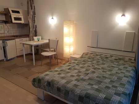 Exklusive, möblierte 1-Zimmer-Business-Wohnung mit Balkon und Einbauküche in Bogenhausen, München in Bogenhausen (München)