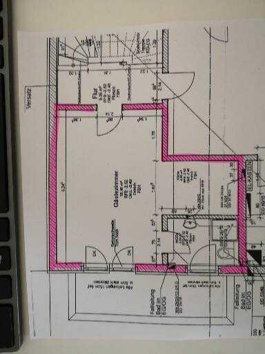Neuwertige 1-Raum-Wohnung mit Einbauküche in Augsburg/Göggingen in Göggingen
