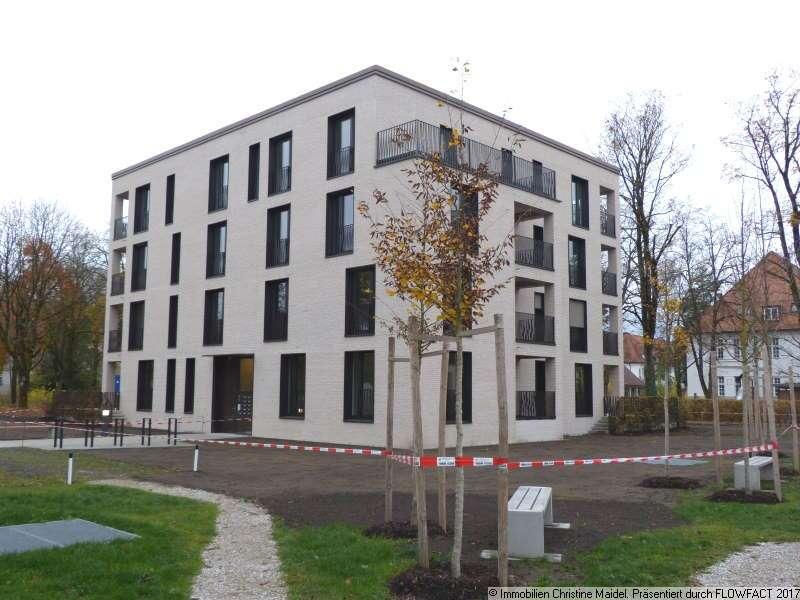 München-Haar! Jugendstilpark-Erstbezug! Großzügige 3,5-Zimmer Wohnung mit Terrasse im Hochparterre ! in Haar (München)