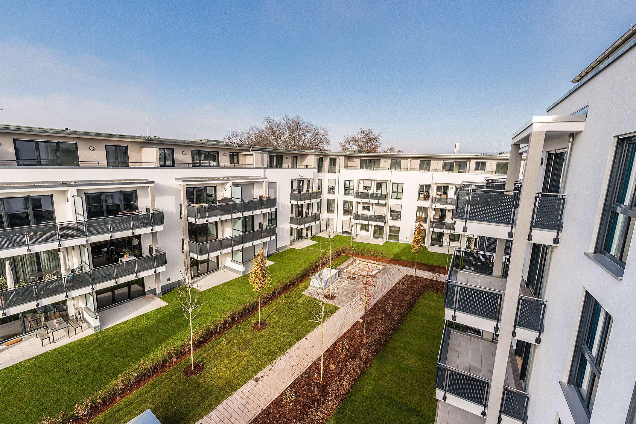 NEUBAU-ERSTBEZUG *** 1A-Anbindung, Supermärkte, Tiefgarage – So wohnt man heute! *** in Damm (Aschaffenburg)