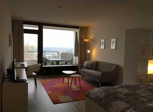 INTELODGE Neu möbliertes Apartment mit Balkon in der Maritim Residenz in Gelsenkirchen - 18. Etage