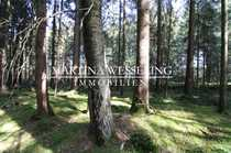 Waldgrundstück nahe Chiemsee geeignet auch