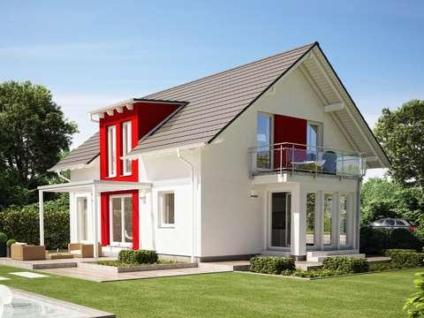 EVOLUTION 154 V2 – Modernes Einfamilienhaus mit Zwerchgiebel ...