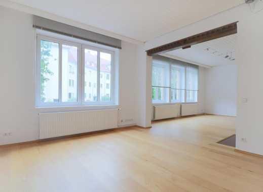 Maschseenähe-helle Hochparterre-Wohnung mit EBK