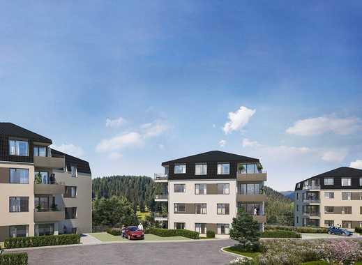 Intelligent geschnittene 3-Zimmer Wohnung mit 2 Bädern, Südterrasse und großem Garten