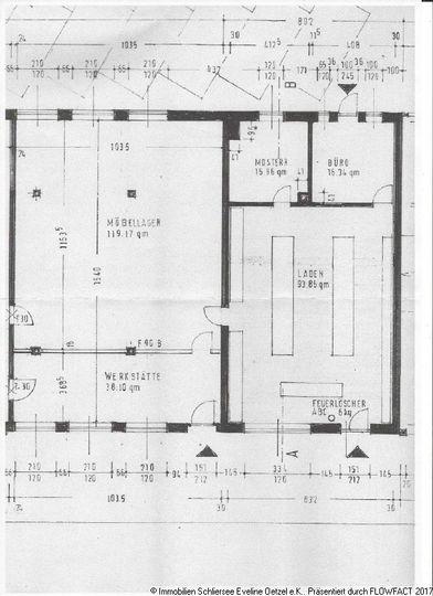 Grundriss Nebenflächen