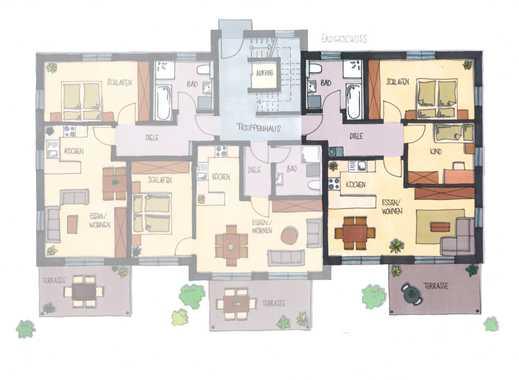 Helle 3-Zimmer-Wohnung im EG mit Terrasse
