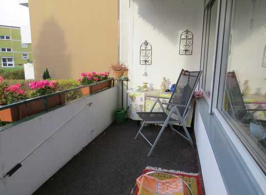 Gepflegte Hochparterre-Wohnung am westlichen Stadtrand wartet auf den Mieter ab 50