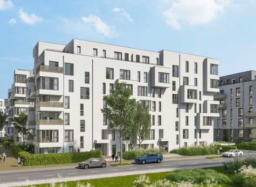 Hochwertige 4-Zimmer-Wohnung mit 2 Bädern und 3 Balkonen nahe City und Grafenberger Wald
