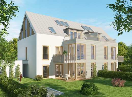 Neubau einer individuellen Wohnanlage mit nur 6 Wohneinheiten in schöner Lage der Lerchenau