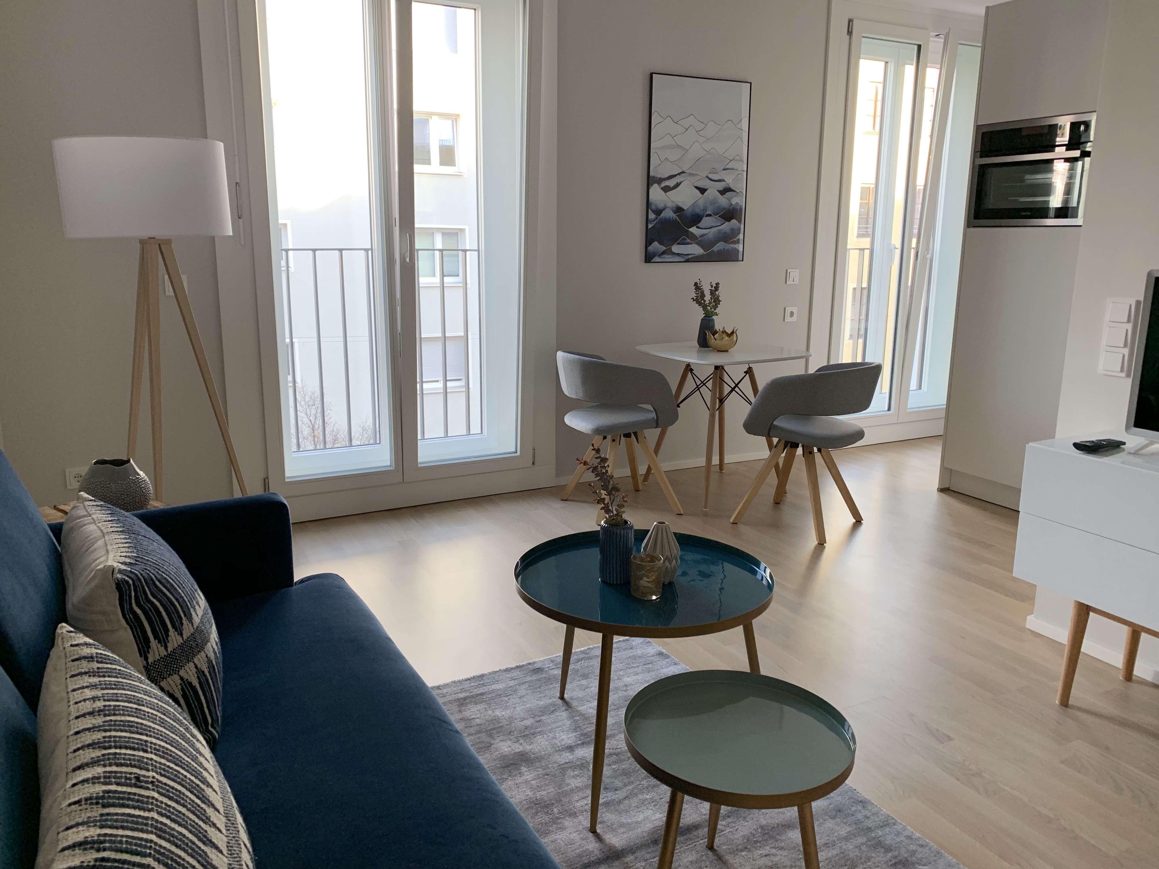 Möbliert! Exklusives 1,5 Zimmer Apartment in der Maxvorstadt zu vermieten: Erstbezug! in Maxvorstadt (München)
