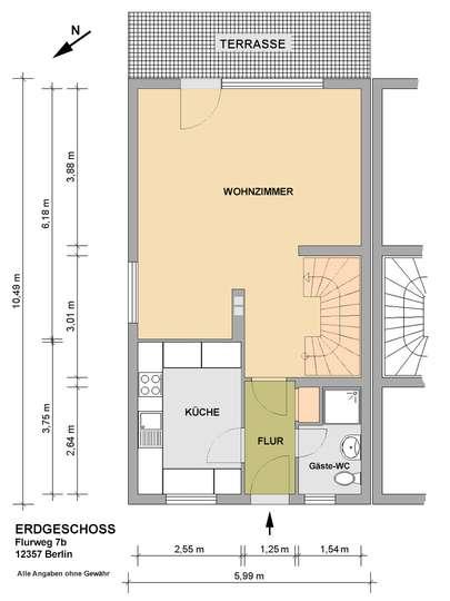 DHH mit 150m² Wohnfläche im Rudower Blumenviertel - Bild 25