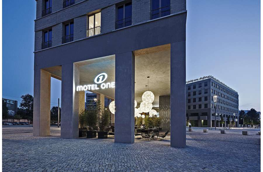 Motel One im Zwinger-Forum