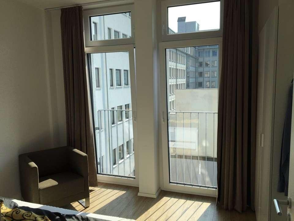 City Wohnung- 2 Zimmer möbliert mit Balkon  in