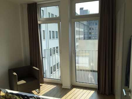 City Wohnung- 2 Zimmer möbliert mit Balkon  in Marienvorstadt (Nürnberg)