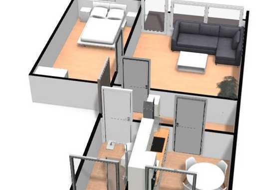 2-Zimmer-Wohnung zum Wohlfühlen - Erstbezug nach Komplettrenovierung