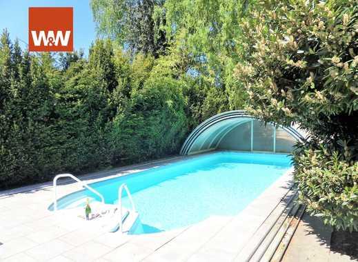°LEBEN wie im Urlaub° tip top gepflegtes freist. Einfamilienhaus mit schönem Garten, 2 Garagen